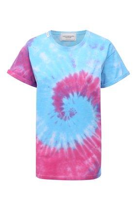 Женская хлопковая футболка FORTE DEI MARMI COUTURE разноцветного цвета, арт. 21SF9210-1 | Фото 1