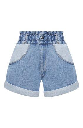 Женские джинсовые шорты FORTE DEI MARMI COUTURE синего цвета, арт. 21SF9850 | Фото 1