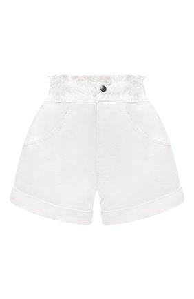 Женские джинсовые шорты FORTE DEI MARMI COUTURE кремвого цвета, арт. 21SF9876 | Фото 1