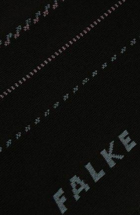 Мужские хлопковые носки FALKE черного цвета, арт. 12470   Фото 2