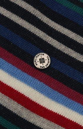 Мужские шерстяные носки BURLINGTON разноцветного цвета, арт. 21057 | Фото 2