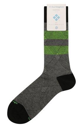 Мужские хлопковые носки BURLINGTON разноцветного цвета, арт. 21916 | Фото 1