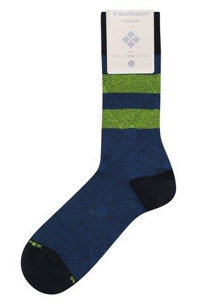 Мужские хлопковые носки BURLINGTON темно-синего цвета, арт. 21916 | Фото 1