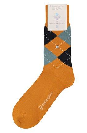 Мужские шерстяные носки BURLINGTON оранжевого цвета, арт. 21182 | Фото 1