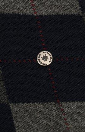 Мужские шерстяные носки BURLINGTON синего цвета, арт. 21182 | Фото 2