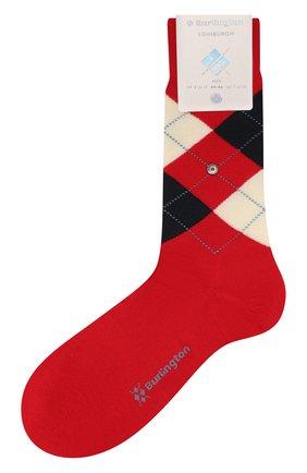 Мужские шерстяные носки BURLINGTON красного цвета, арт. 21182 | Фото 1