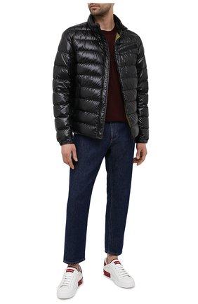 Мужские кожаные кеды portofino DOLCE & GABBANA красного цвета, арт. CS1760/AH526 | Фото 2