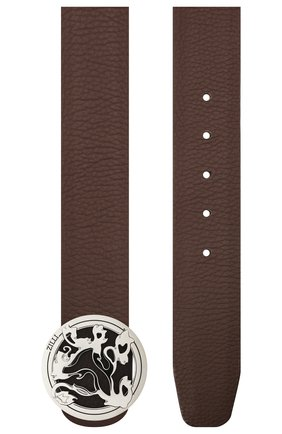 Мужской кожаный ремень ZILLI коричневого цвета, арт. MJL-CLAQE-01947/0035/135-140 | Фото 2