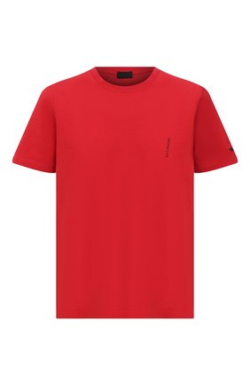Мужская хлопковая футболка MONCLER красного цвета, арт. G1-091-8C7B2-10-829H8 | Фото 1
