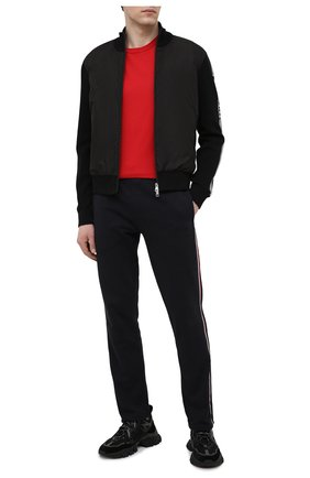 Мужская хлопковая футболка MONCLER красного цвета, арт. G1-091-8C7B2-10-829H8 | Фото 2