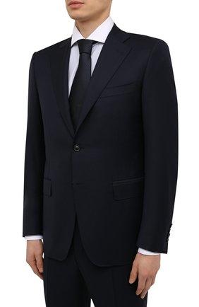 Мужской шерстяной костюм CANALI темно-синего цвета, арт. E11220/10/AX01199 | Фото 2