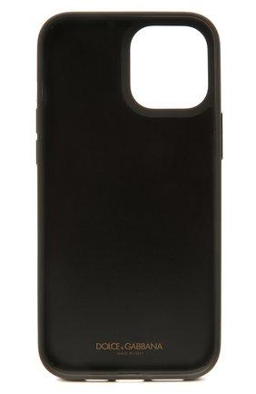 Чехол для iphone 12 pro max DOLCE & GABBANA серого цвета, арт. BP2906/AW394 | Фото 2