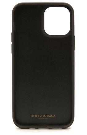 Чехол для iphone 12 pro DOLCE & GABBANA серого цвета, арт. BP2905/AW394 | Фото 2