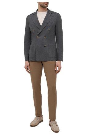 Мужской хлопковый пиджак ELEVENTY темно-серого цвета, арт. C70GIAC09 JAC23021 | Фото 2