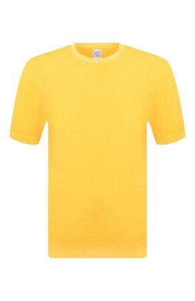Мужской хлопковый джемпер ELEVENTY желтого цвета, арт. C71MAGC04 MAT0C002 | Фото 1