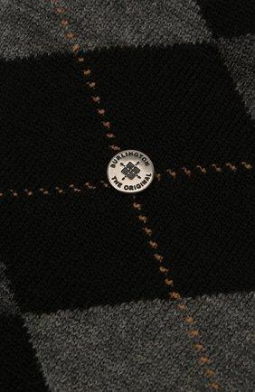 Мужские шерстяные носки BURLINGTON черного цвета, арт. 21182 | Фото 2