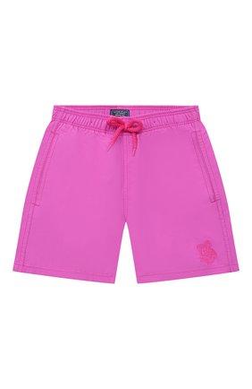Детские плавки-шорты VILEBREQUIN розового цвета, арт. JIMH0D36/142 | Фото 1