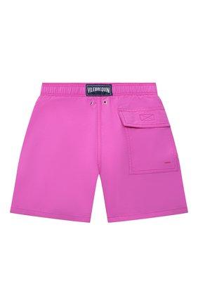 Детские плавки-шорты VILEBREQUIN розового цвета, арт. JIMH0D36/142 | Фото 2
