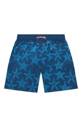 Детские плавки-шорты VILEBREQUIN синего цвета, арт. JIMH0D55/342 | Фото 2