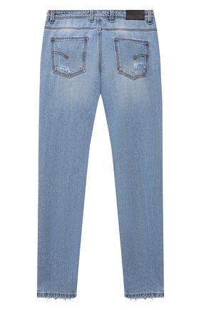 Детские джинсы NEIL BARRETT KIDS синего цвета, арт. 027906 | Фото 2