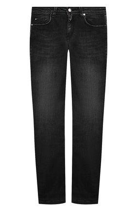Детские джинсы NEIL BARRETT KIDS черного цвета, арт. 027876 | Фото 1