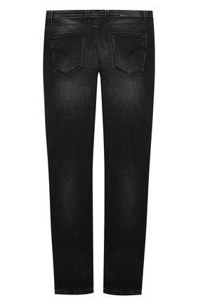 Детские джинсы NEIL BARRETT KIDS черного цвета, арт. 027876 | Фото 2