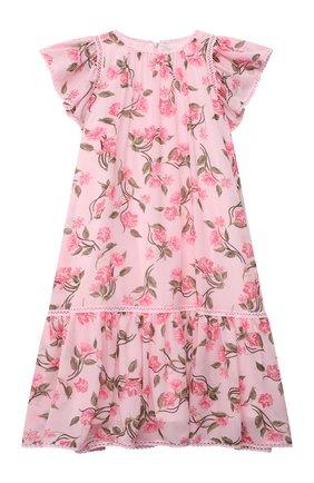 Детское платье ALBERTA FERRETTI JUNIOR розового цвета, арт. 027856   Фото 1