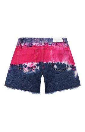 Детские джинсовые шорты ALBERTA FERRETTI JUNIOR фуксия цвета, арт. 027812   Фото 2