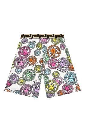 Детские хлопковые шорты VERSACE разноцветного цвета, арт. 1000346/1A00285/8A-14A | Фото 1