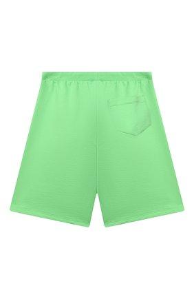 Детские хлопковые шорты VERSACE зеленого цвета, арт. 1000221/1A00287/8A-14A | Фото 2