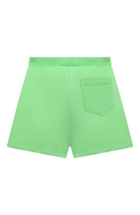 Детские хлопковые шорты VERSACE зеленого цвета, арт. 1000221/1A00287/4A-6A | Фото 2