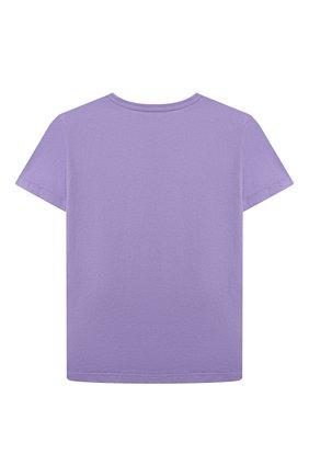 Детская хлопковая футболка VERSACE фуксия цвета, арт. 1000052/1A00083/8A-14A | Фото 2