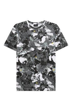 Детская хлопковая футболка MARCELO BURLON KIDS OF MILAN разноцветного цвета, арт. 21E/B/MB/1112/0010/8-14Y   Фото 1