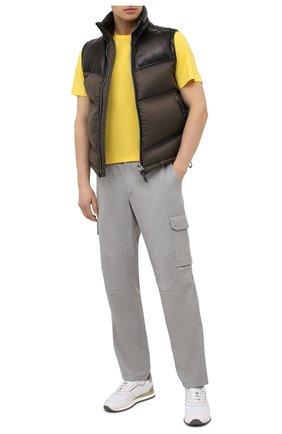 Мужская хлопковая футболка RALPH LAUREN желтого цвета, арт. 790508153 | Фото 2