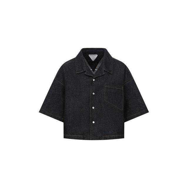 Джинсовая рубашка Bottega Veneta