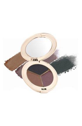 Тени для век purepressed eye shadow triple, date night JANE IREDALE бесцветного цвета, арт. 670959113795 | Фото 1