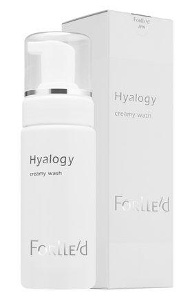 Очищающий мусс для чувствительной кожи hyalogy creamy wash FORLLE'D бесцветного цвета, арт. 421226 | Фото 2