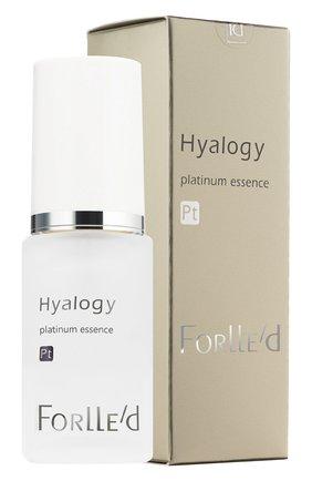 Сыворотка платиновая hyalogy platinum essence FORLLE'D бесцветного цвета, арт. 291376   Фото 2