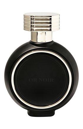 Мужской парфюмерная вода or noir HFC бесцветного цвета, арт. 3770014573094 | Фото 1 (Ограничения доставки: flammable)