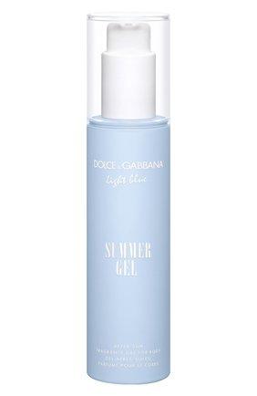 Парфюмированный гель после загара light blue summer gel DOLCE & GABBANA бесцветного цвета, арт. 3110450DG | Фото 1