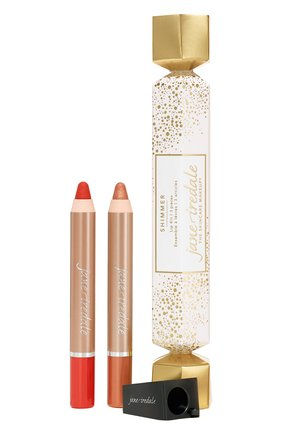 Набор lip crayon popper shimmer JANE IREDALE бесцветного цвета, арт. 670959512031 | Фото 1