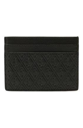 Мужской кожаный футляр для кредитных карт SAINT LAURENT черного цвета, арт. 647148/18G1Z | Фото 1