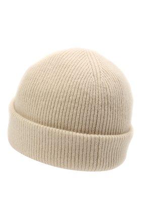 Мужская шерстяная шапка ACNE STUDIOS бежевого цвета, арт. C40134/M | Фото 2