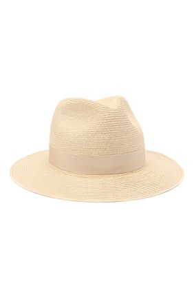 Мужская шляпа GIORGIO ARMANI светло-бежевого цвета, арт. 747362/1P507 | Фото 1