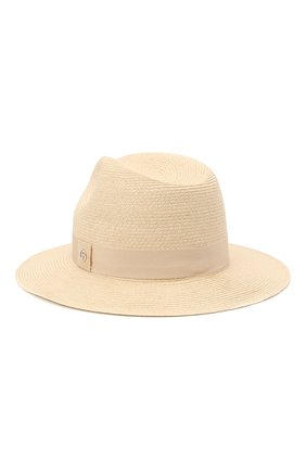 Мужская шляпа GIORGIO ARMANI светло-бежевого цвета, арт. 747362/1P507 | Фото 2