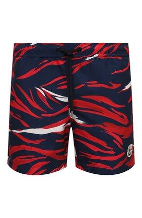 Мужские плавки-шорты MONCLER разноцветного цвета, арт. G1-091-2C708-00-5956L | Фото 1
