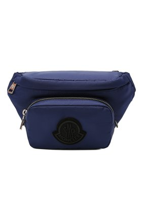 Мужская текстильная поясная сумка durance MONCLER темно-синего цвета, арт. G1-09A-5M702-00-02ST8 | Фото 1