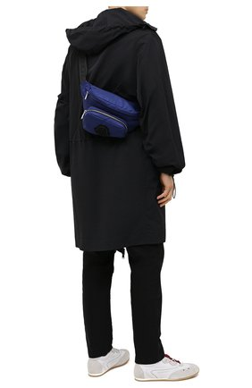 Мужская текстильная поясная сумка durance MONCLER темно-синего цвета, арт. G1-09A-5M702-00-02ST8 | Фото 2