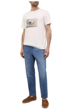 Мужские замшевые эспадрильи CASTANER коричневого цвета, арт. 021630 | Фото 2