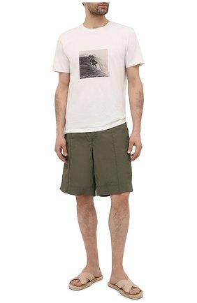 Мужские текстильные шлепанцы CASTANER бежевого цвета, арт. 021841 | Фото 2
